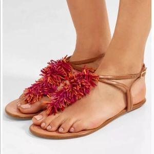 Aquazzura Firenze Wild Thing Sandals T-Strap sz 41